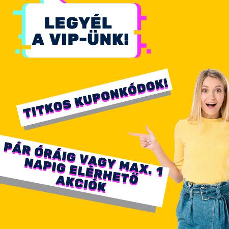 Iratkozz fel VIP listánkra!