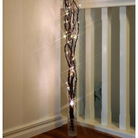 24 LED-es világító sakura fűzfa ágak, 75 cm magas - meleg fehér