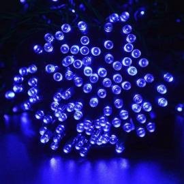 80 LED-es kültéri-beltéri dekor fényfüzér, kék, 9 m