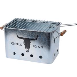 GrillKing piknik hordozható grillező, 43 x 20 cm