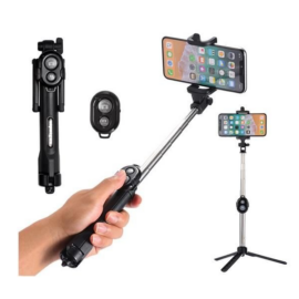 3 az 1-ben távírányítható Selfie bot és fényképező állvány