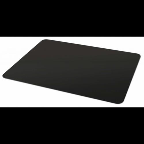 Padlóvédő PVC, 100x70 cm fekete színben
