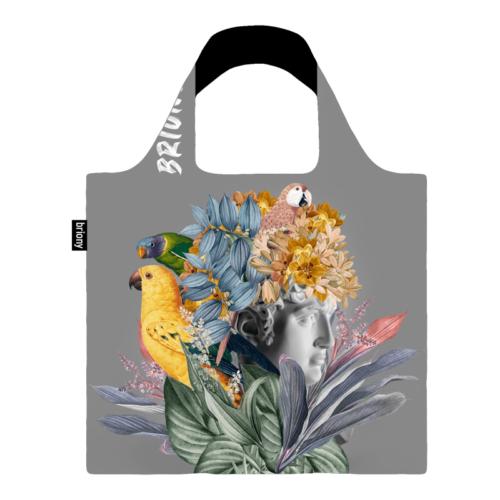 Briony újrahasznosított bevásárló táska - szürke