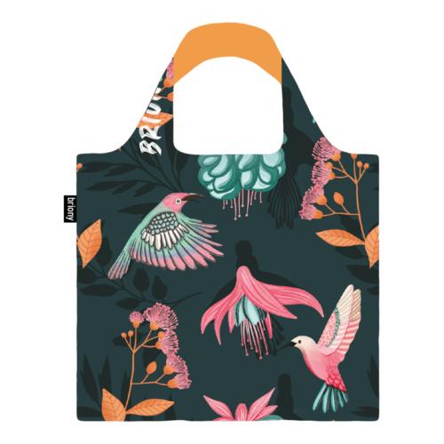 Briony újrahasznosított bevásárló táska - kolibri