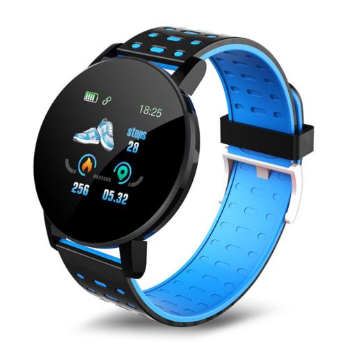 Mountee Smart Watch okosóra - fekete-kék