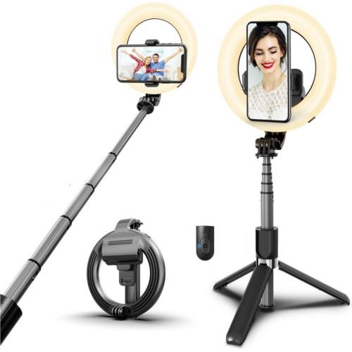 Prémium bluetooth selfie bot világítással