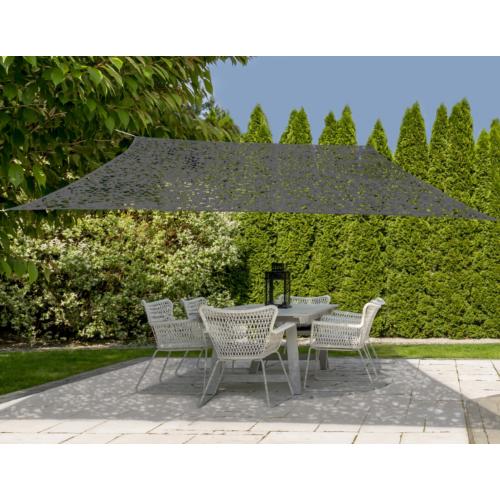 Ambiance kerti árnyékoló háló 2 x 3 m, sötét szürke