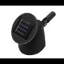 Kép 3/4 - Napelemes fali LED lámpa, fekete