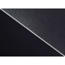 Kép 4/7 - Padlóvédő PVC, 100x70 cm fekete színben