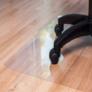 Kép 4/5 - Padlóvédő székalátét otthoni és irodai használatra, 100x70 cm