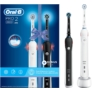 Kép 2/4 - Oral-B PRO 2 2900 BLACK & WHITE Duopack elektromos fogkefe csomag