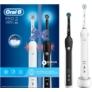 Kép 1/4 - Oral-B PRO 2 2900 BLACK & WHITE Duopack elektromos fogkefe csomag