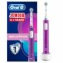 Kép 2/2 - Oral-B PRO 400 Junior 6+ Lila elektromos fogkefe