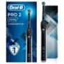 Kép 2/2 - Oral-B Pro 2 2500 Black Design Edition elektromos fogkefe