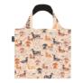 Kép 2/2 - Briony újrahasznosított bevásárló táska - tacskó mintás