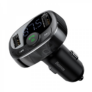 Kép 1/4 - Baseus 4 az 1-ben bluetooth FM transzmitter MP3 lejátszó - 3.4A autós töltő
