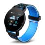 Kép 1/4 - Mountee Smart Watch okosóra - fekete-kék