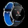 Kép 3/4 - Mountee Smart Watch okosóra - fekete-kék