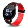 Kép 1/4 - Mountee Smart Watch Red