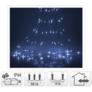 Kép 6/6 - 200 micro LED-es fényfüggöny, hideg fehér