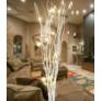 Kép 2/6 - 12 LED-es világító sakura fűzfa ágak, 40 cm - fehér