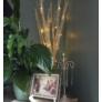 Kép 4/6 - 12 LED-es világító sakura fűzfa ágak, 40 cm - fehér