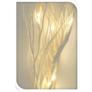 Kép 6/6 - 12 LED-es világító sakura fűzfa ágak, 40 cm - fehér