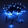 Kép 2/5 - 80 LED-es kültéri-beltéri dekor fényfüzér, kék, 9 m