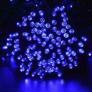 Kép 1/5 - 80 LED-es kültéri-beltéri dekor fényfüzér, kék, 9 m