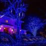 Kép 4/5 - 80 LED-es kültéri-beltéri dekor fényfüzér, kék, 9 m