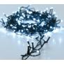 Kép 2/5 - 192 LED-es  kültéri-beltéri elemes dekor fényfüzér, hideg fehér, 14 m