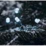 Kép 3/5 - 192 LED-es  kültéri-beltéri elemes dekor fényfüzér, hideg fehér, 14 m