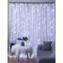 Kép 5/5 - 300 micro LED-es kültéri-beltéri fényfüggöny, hideg fehér
