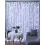 Kép 4/6 - 200 micro LED-es fényfüggöny, hideg fehér