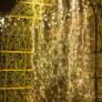 Kép 6/7 - 200 micro LED-es kültéri-beltéri fényfüggöny, meleg fehér