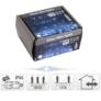 Kép 4/5 - 100 micro LED-es kültéri-beltéri fényfüggöny, hálózati adapteres, hideg fehér