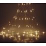 Kép 2/6 - 100 micro LED-es kültéri-beltéri fényfüggöny, hálózati adapteres, meleg fehér