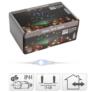 Kép 3/3 - 200 micro LED-es fényfüggöny, színes