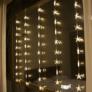 Kép 3/7 - 50 LED-es csillag fényfüggöny, hálózati adapteres, meleg fehér