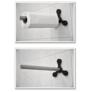 Kép 2/3 - Öntapadós Konyhai papírtörlőtartó, 31 cm
