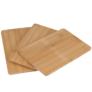 Kép 1/2 - 3 részes Bambusz vágódeszka szett, 22 x 14 cm