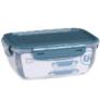 Kép 3/3 - 3 db-os mikrózható műanyag ételtároló doboz szett