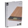 Kép 5/5 - Excellent Houseware Bambusz digitális konyhai mérleg