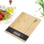 Kép 1/5 - Excellent Houseware Bambusz digitális konyhai mérleg
