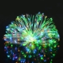 Kép 1/4 - 100 micro LED-es  elemes  dekor fényfüzér, színes, 5 m