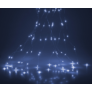 Kép 2/5 - 300 micro LED-es kültéri-beltéri fényfüggöny, hideg fehér