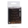 Kép 5/5 - 160 micro LED-es elemes cascade fényfüggöny, meleg fehér