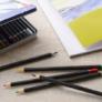 Kép 2/4 - Artist 24 db-os színes ceruza készlet, fém dobozban