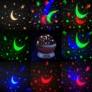 Kép 2/6 - Forgó Csillagfényes éjjeli lámpa