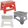 Kép 2/6 - Összecsukható, többfunkciós fellépő-szék, 100 Kg